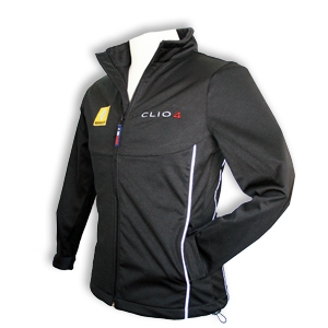 Clio 4 Soft Shell Jacket Ladies Black