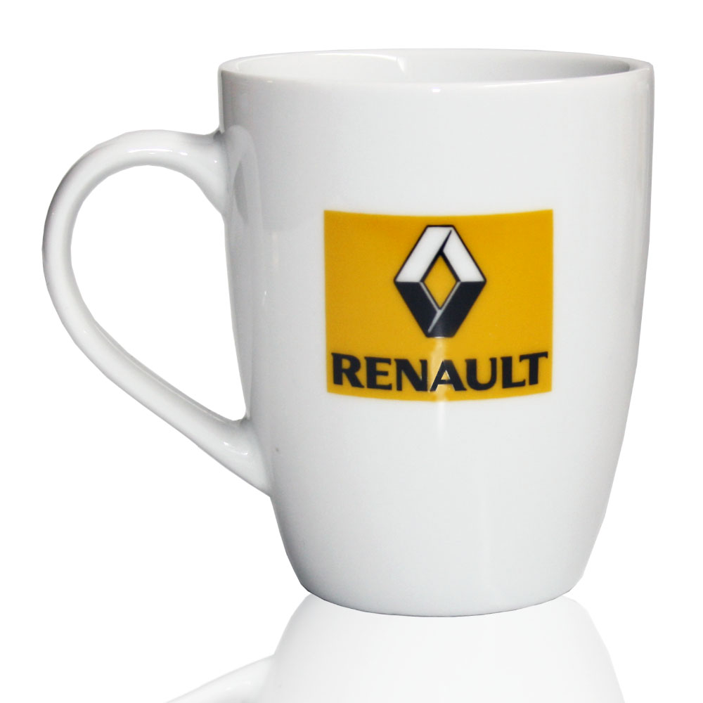 Renault Bullet Coffee Mug 2 colour logo